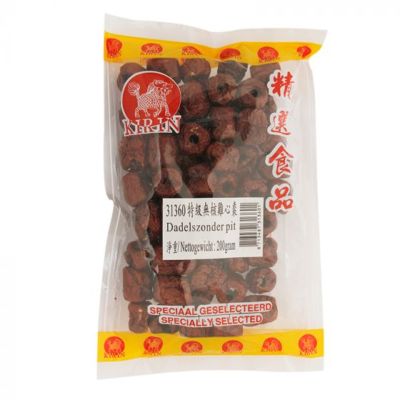 dried red date seedless 200gr