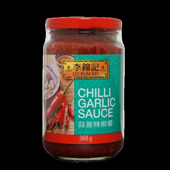 chilli/garlic sauce 368gr