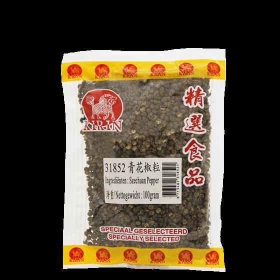 szechuan groen peperkorrels 100gr