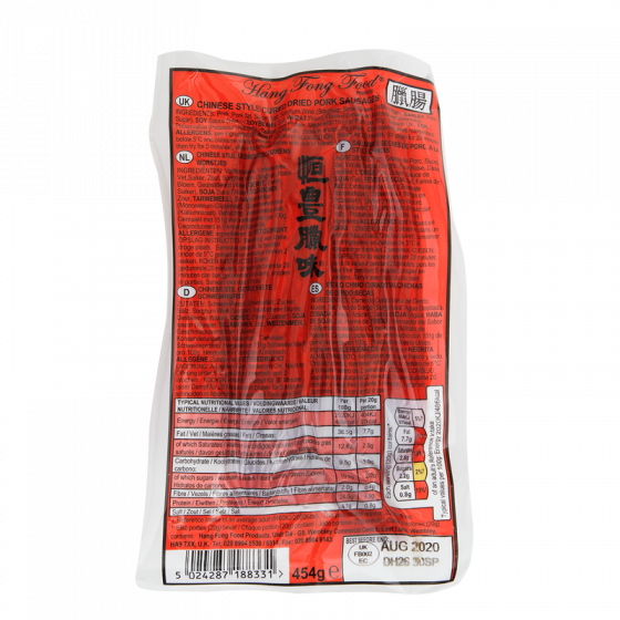 lap chong pork rood 454gr