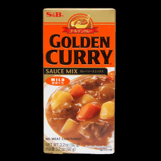golden curry mild 100g