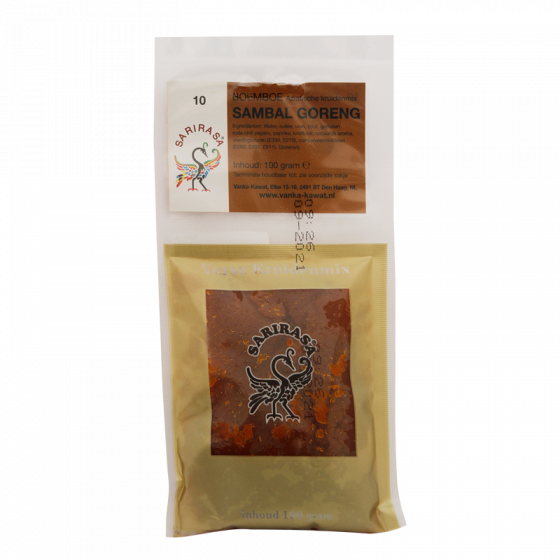 boemboe sambal g.(no.10) 100gr