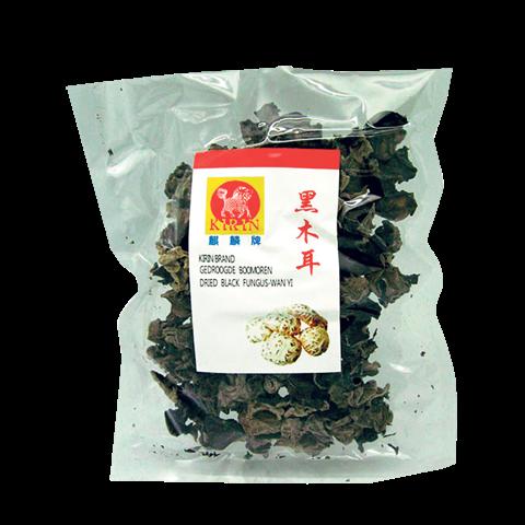 dried black funges-wan yi 100g
