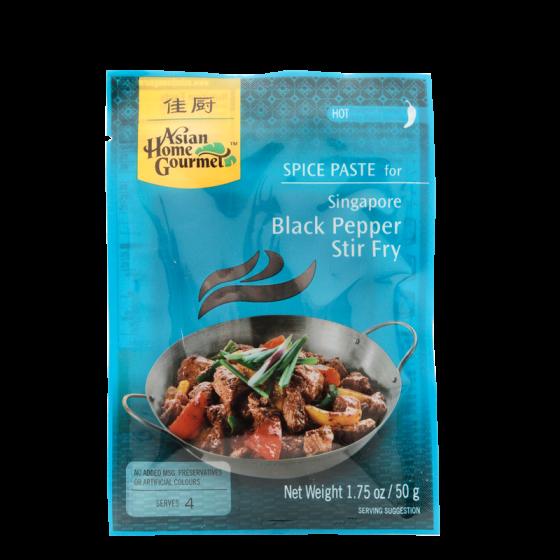 black pepper stir fry 50g