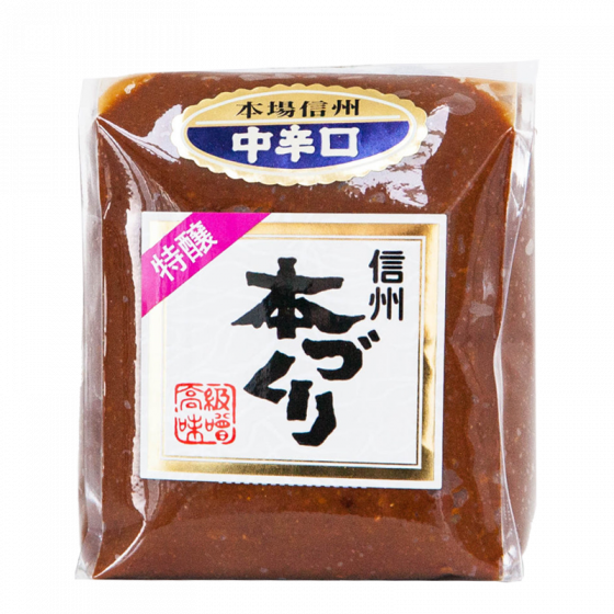shinsu aka miso donker 500gr