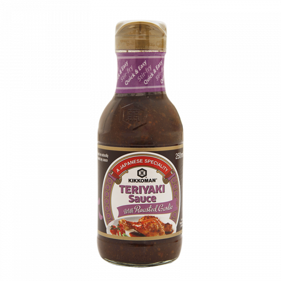 Teriyaki sauce with roasted garlic 250ml