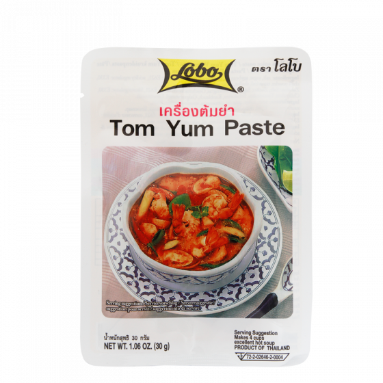 tom yum paste 30gr