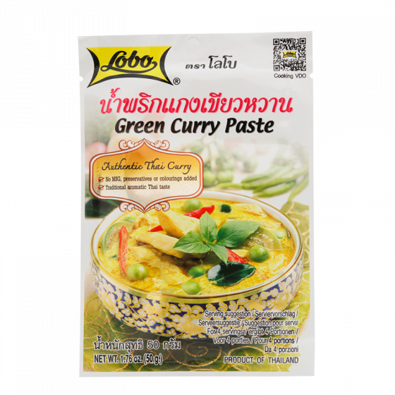 green curry paste 50gr