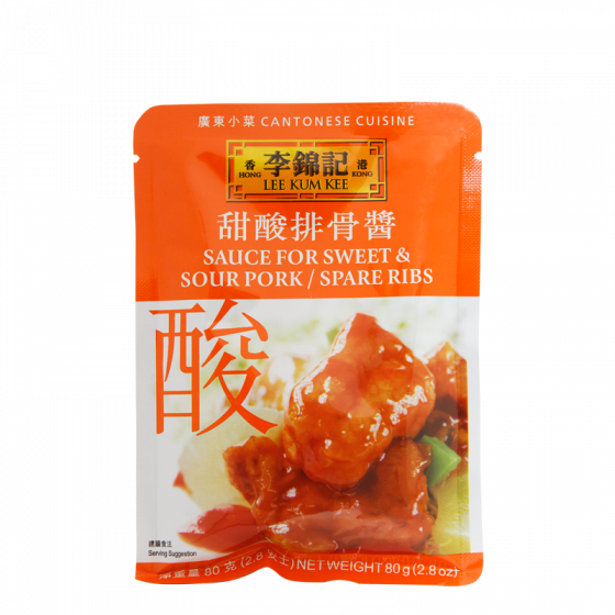 sweet & sour spare rib sauce 80g