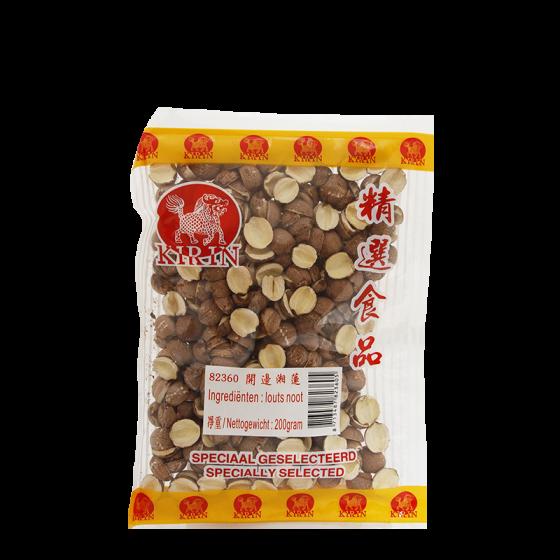 dried brown lotus bean 200gr