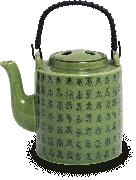 Celadon Theepot hoog 1000ml
