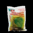 mosterdgroente zonder blad 350gr