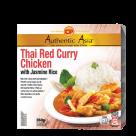 thai red curry chicken with jasmin rice 350gr