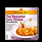 thai massaman curry chicken with jasmin rice 350gr