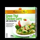 thai green curry chicken with jasmin rice 350gr