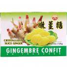 crystallized slice ginger 125gr
