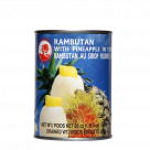 rambutan with pineapple in syrup 565gr