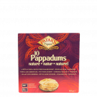 pappadums naturel 100gr